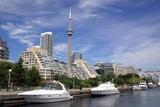 toronto marina and cn tower