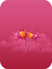 candy sky love