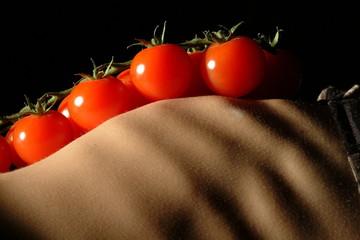 tomaten und rippen