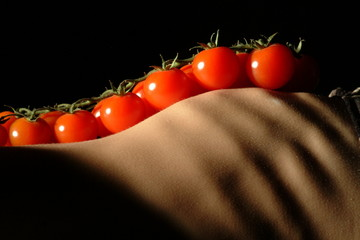 tomate an brust