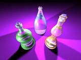 gaudy bottles 1 poster