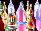 gaudy bottles 2 poster