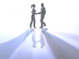 handshake poster