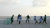 football plage - maldives poster