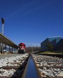 single train track poster