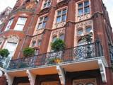 ornate balcony poster