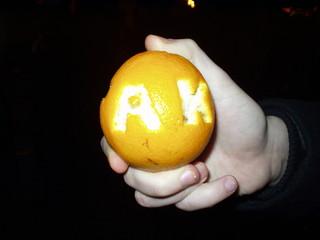 tak(yes) - orange