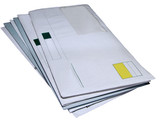 envelopes clipping path poster