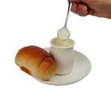 yogurt breakfast poster