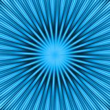 blue burst poster