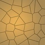 dry cracked desert floor poster