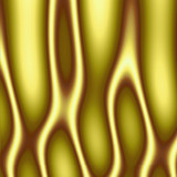 gold abstract flames poster