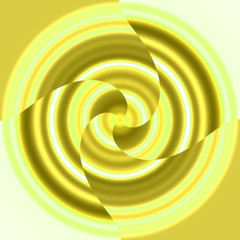 spinning yellow thing