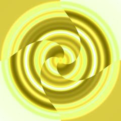 spinning yellow thing