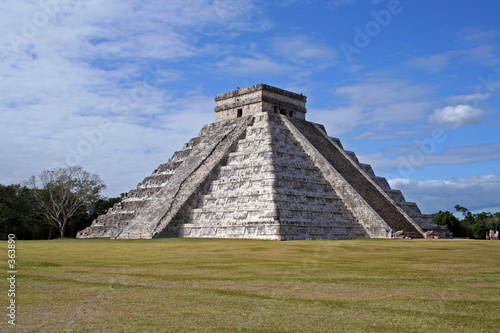 chichen itza - mexique, yucatan