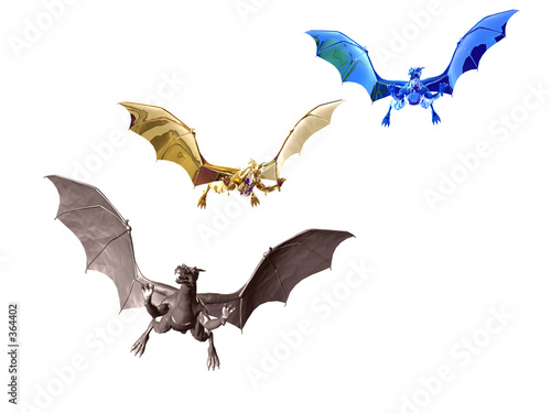 three dragons