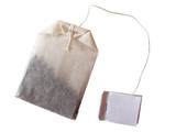 tea bag isolated poster