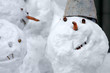 smile of the snowman