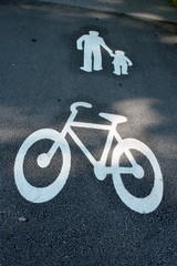 way for pedestrians and bikes