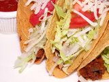 tacos mexican sandwich poster