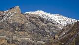 squaw peak in winter poster