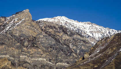 squaw peak in winter