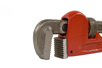 pipe wrench jaws