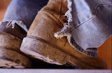 consturction boots poster