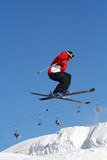saut skis poster