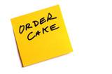 order cake poster