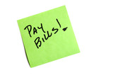 pay bills poster