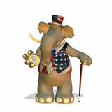 political elephant poster