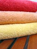 towel stack 5 poster