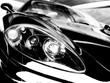 roleta: black sport car