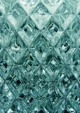 crystal pattern poster