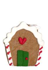 cookie - gingerbread house