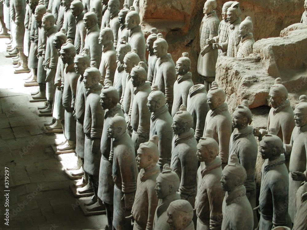 wojownik archeologia cesarz - powiększenie