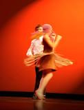 children dancing poster
