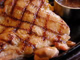 fried chicken poster