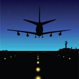 Fototapety midnight landing