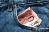 10 euros en poche poster