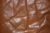 wrinkled old leather