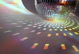 discoball lights poster