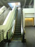 automatic escalator poster