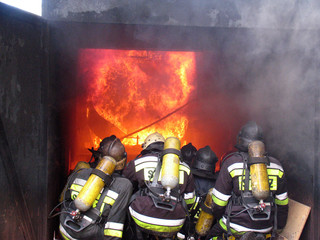 firefighters - first in last ouf