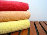 towel stack 3 poster
