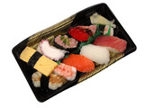 sushi lunch box poster