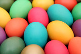 Fototapety colorful easter eggs