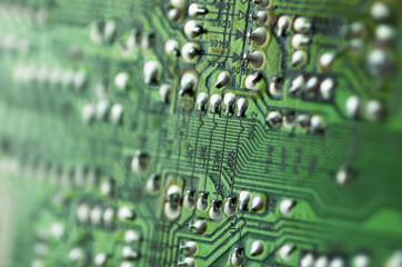 electronics in macro