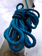 boat rope on pole